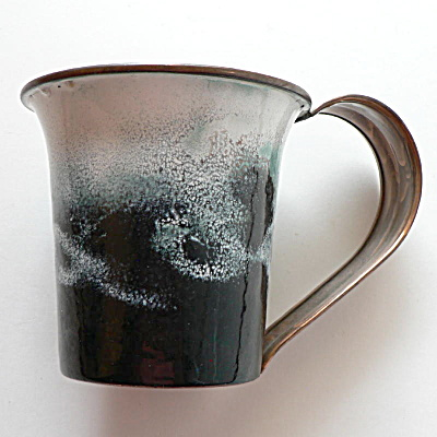 Nekrassoff Large Handled Mug � Black & White (Image1)
