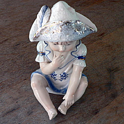 KPM Porcelain Figurine Young Boy (Image1)