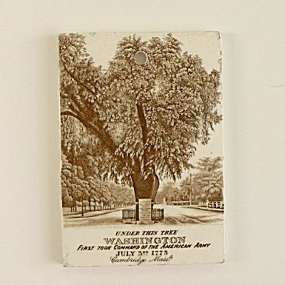 1899 Wedgwood Calendar Tile Washington (Image1)