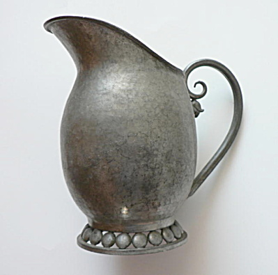 Nekrassoff Pewter Milk Pitcher  (Image1)