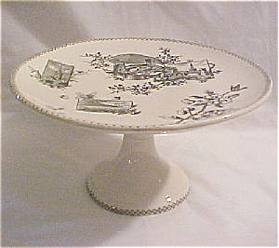 Dartmouth Footed Cake Stand ca 1860 (Image1)