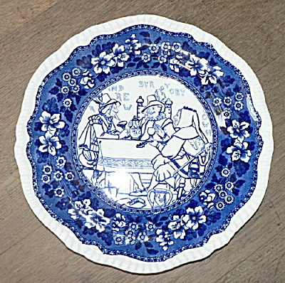 Rare Copeland Plate With Shakespeare Scene