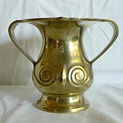 Two Handled Art Deco Urn (Image1)