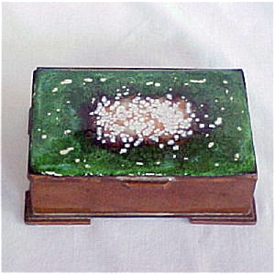 Nekrassoff Copper And Enamel Box