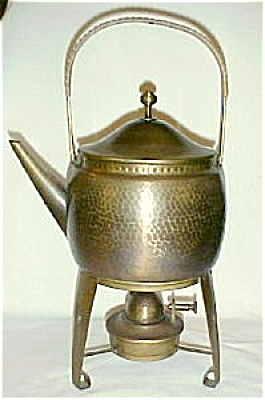 WMF Hot Water Kettle on Stand with Lamp (Image1)