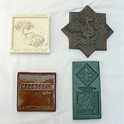 Set of Commemorative Tiles - Tile Heritage Foundation (Image1)