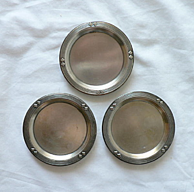 WMF Silverplate Coasters (Image1)