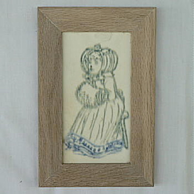 Owens Tile Girl with Muff (Image1)