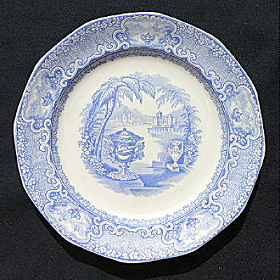 Washington Vase Staffordshire Plate