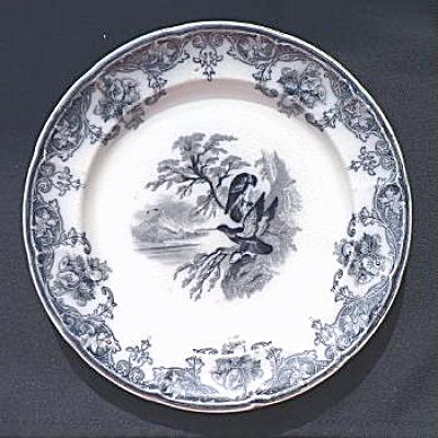 Eagle Plate circa 1850 - #2 (Image1)