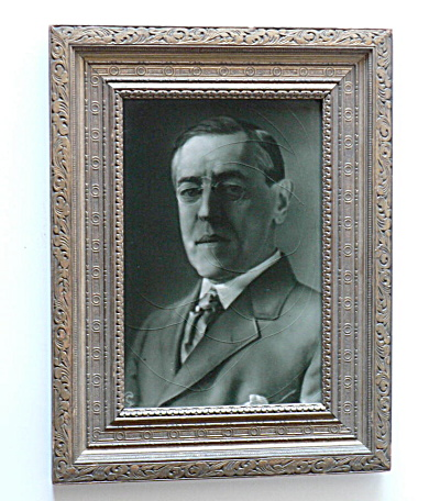 Woodrow Wilson Photographic Tile (Image1)