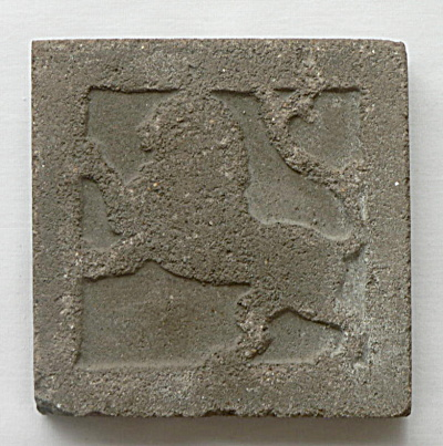 Arts & Crafts Leo Tile (Image1)