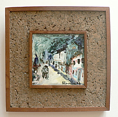 Ron Blumberg Hand Painted Tile (Image1)