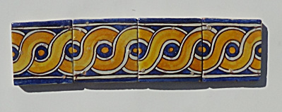 Set of 4 Chemla - Tunis Tiles (Image1)
