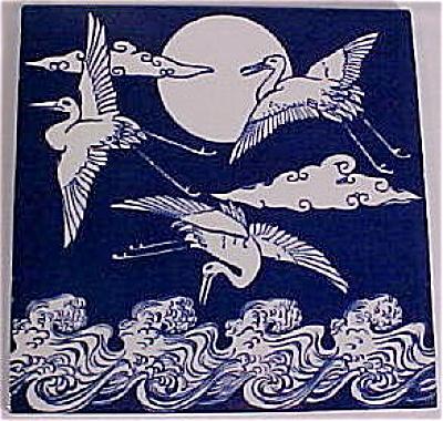 Christopher Dresser Aesthetic Movement Tile (Image1)