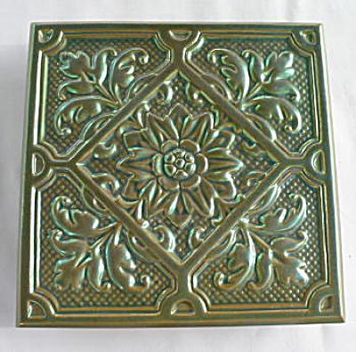 Zsolnay tile Eosin glaze (Image1)