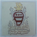 Click here to enlarge image and see more about item 1025: Wheeling George Washington / Crest Tile