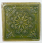 Click here to enlarge image and see more about item 1134: Antique Floor Tile � Godwin