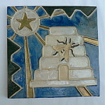 Beehive, Bee and Star Tile