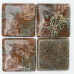 Click to view larger image of Malibu Pillow Tiles - Set of 4 (Image1)