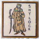 Click here to enlarge image and see more about item 1261: Shylock Tile by Mosaic Tile Company