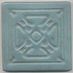 Click here to enlarge image and see more about item 3159: Matte Glaze Studio Art Tile