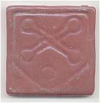 Click here to enlarge image and see more about item 3111: Pewabic Pottery Tile