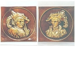Click to view larger image of Antique Portrait Tiles by AET (Image1)
