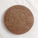 Click here to enlarge image and see more about item T1632: Rutgers University Outing Club Tile