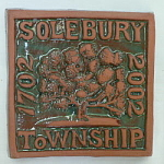 Solebury PA Commemorative Tile