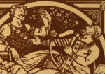 Click to view larger image of Alfred – English History Antique Tile (Image2)