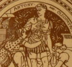Click to view larger image of Antony & Cleopatra (Act IV) - Shakespeare Antique Tile (Image2)