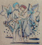 Click to view larger image of Rookwood Faience Hand Painted Tile (Image2)