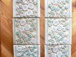 Click to view larger image of Claycraft Tiles Set of 8 Vintage Calif A & C (Image5)