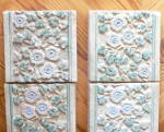 Click to view larger image of Claycraft Tiles Set of 8 Vintage Calif A & C (Image6)