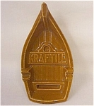 Click here to enlarge image and see more about item 213370: Kraftile (California) Advertising Boat