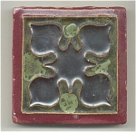 Click here to enlarge image and see more about item 1104-1: Wheatley Tile with Awesome Glazes