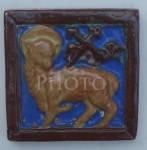Click to view larger image of Alhambra Kilns Lamb of God Tile (Image1)