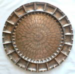 Click here to enlarge image and see more about item AMCraft2: Craftsman Hand Made Copper Charger