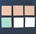 California ArtTiles - muted glazes