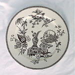 Click here to enlarge image and see more about item NC075-J: Aesthetic Movement Transferware Plate