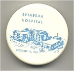 Click here to enlarge image and see more about item PH11: Bethesda Hospital paperweight by Mosaic Tile