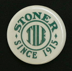 Click here to enlarge image and see more about item Stoner: Stoner Tile Company Paperweight