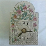 Click here to enlarge image and see more about item T1128: Roger Capron tile clock