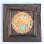 Greek Goat Studio Art Tile