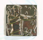 Click to view larger image of Sagittarius Zodiac Tile by Schreckengost / Summitville (Image1)
