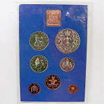 Click here to enlarge image and see more about item T1243: Set of Coins England  / Ireland