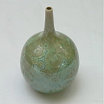 Click to view larger image of Ray West Signed Pottery Vase (Image1)
