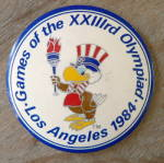 Click to view larger image of 1984 Olympics LA Ceramic Buttons (Image4)