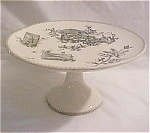 Click here to enlarge image and see more about item T1456: Dartmouth Footed Cake Stand ca 1860